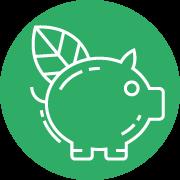 Logo de la dimensión económica
